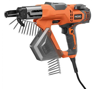 RIDGID 6.5 Amp 1 to 3 in screws Corded Collated drywall  Screw Gun screwdriver