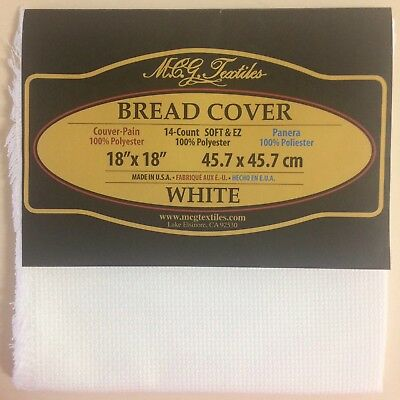 Aida Cloth 14 Count Soft & Ez MGC Textiles Made in USA Bread Cover Polyester
