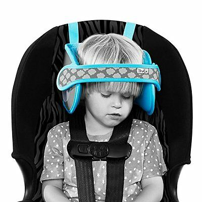 Nap Up Baby Car Seat Head Support, Toddler Chest And Neck Safety Travel Headrest