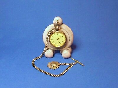Art Deco effect Ceramic Pocket watch stand watch display stand for vintage watch