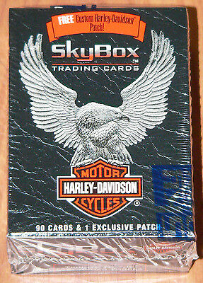 Harley Davidson Sealed Factory set by Skybox in 1994.