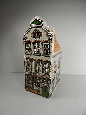 Agro Old Dutch Ceramic Miniature Canal House Hand Painted Made in Holland. #4