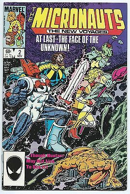 The Micronauts The New Voyages # 2 # 3 # 8 # 13 * Lot Of 4 * 1984 Marvel Comics