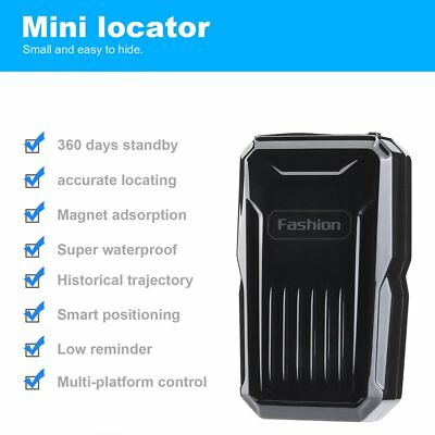 Vehicle GPS Tracker Magnetic Waterproof GPS Car Tracking Locator Alarm Devices R