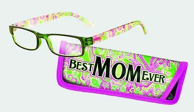 Spoontiques Reading Glasses w/  Matching Case Mom