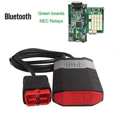 Bluetooth 2015 R3 Car Auto Truck Diagnostic OBD2 Code Scanner Software Tool PM
