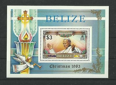 GB 1290.Beliz 1983. Christmas BL MNH