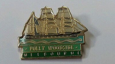 Polly Woodside Melbourne  Pin /  Badge