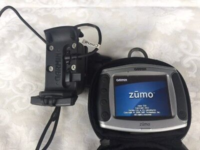 Garmin Zumo 550 With Motorcycle Ram Mount And Harness