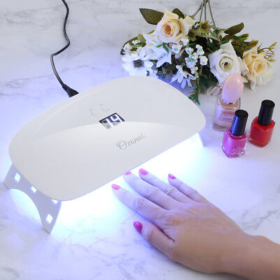 Pro 15W LED UV Lamp Nail Dryer Gel Polish Art Curing Manicure IR Sensor W/ Timer