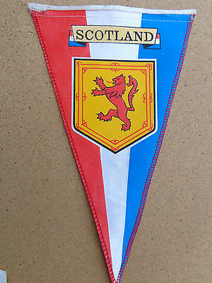 Scotland Red Lion Shield Pennant