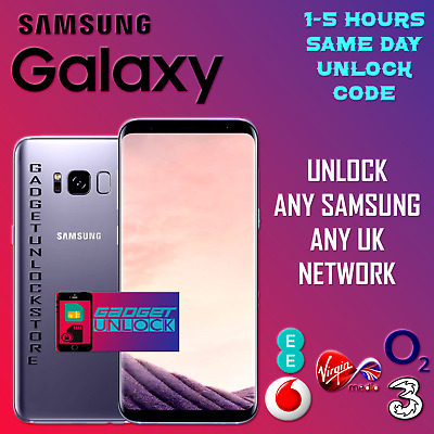 UNLOCK CODE FOR Three Meteor Vodafone Ireland Samsung Galaxy J1 J3 J5 A3 A5 A7