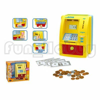 Children's Own Bank Battery Open ATM Machine Toy