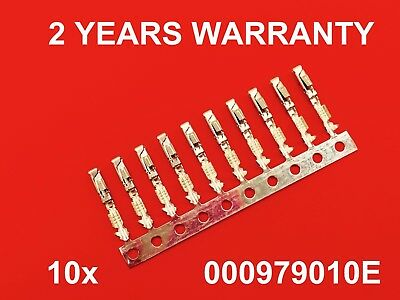 10x Crimps Terminals Pins for Repair Wire for AUDI SEAT VW Skoda 000979010E