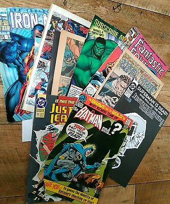 Marvel - DC & Independent 30 mixed decoupage pages