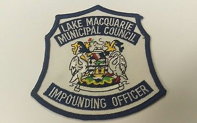 Lake Macquarie Council Impounding Officer Patch / Badge