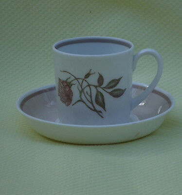 Pretty Vintage Susie Cooper 4 Wedgwood England Cup & Saucer Duo *Talisman *Pink