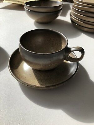 Denby  Original Romany cups and saucers