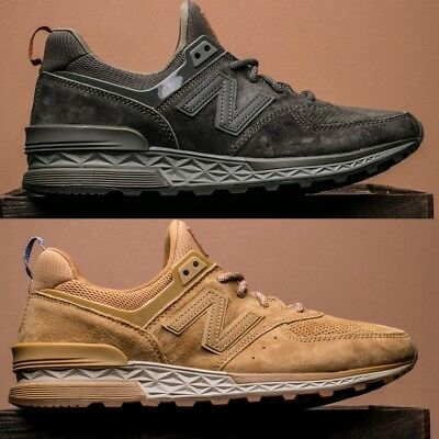 buy online dd396 8b530 New Balance 574 S Sport Suede Men s Running Shoes Lifestyle Comfy Sneakers