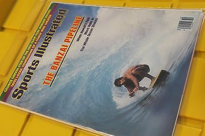 Sports Illustrated March 1982 The Banzai Pipeline Hawaii vtg. Surfing - MAGAZINE