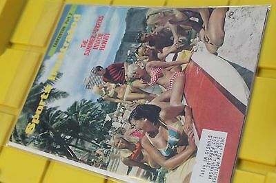 Sports Illustrated July 1967 Summer Surfers Invade Hawaii Beach Party - MAGAZINE