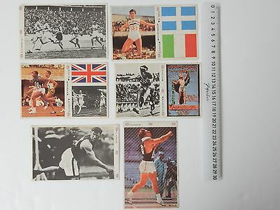 Job Lot 6 Munich Olympics 1972 Sticker Collection Esso Petrol 15.2Cm X 9.6Cm St2