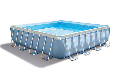 Piscina Prism Frame Square Pool 488 | INTEX 28766