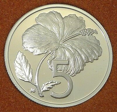 Cook Islands / 1973 / 5 Cents / Proof Issue From Set / Km# 3