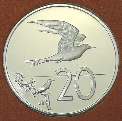 Cook Islands / 1973 / 20 Cents / Proof Issue From Set / Km# 5