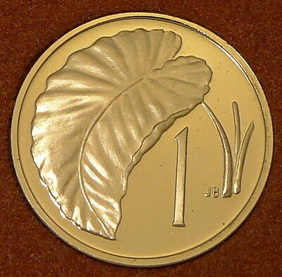 Cook Islands / 1973 / 1 Cent / Proof Issue From Set / Km# 1