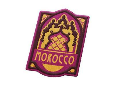 Morocco Iron On Travel Patch - Marrakesh, Casablanca