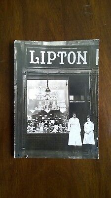 RARE Photograph. Lipton Shop Front with staff. Lipton's Hand Made Chocolates