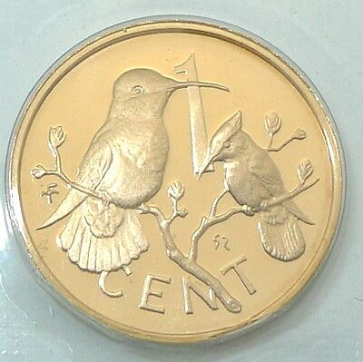 British Virgin Islands / 1973 / 1 Cent / Proof Issue From Set