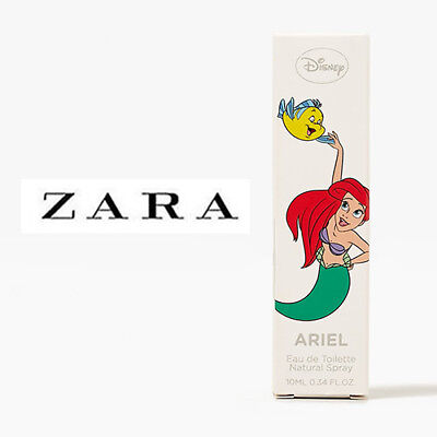 [ZARA LITTLE MERMAID ARIEL] Kid's Fruity Fragrance Perfume Eau De Toilette 10ml