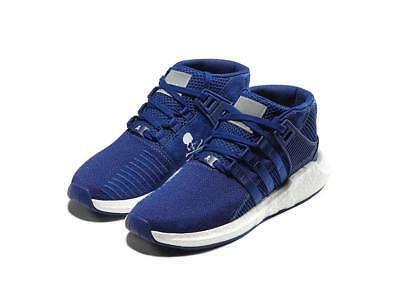 4aa649736 Mastermind World x Adidas EQT Support 93 17 Mid Mystery Ink   White Size 9