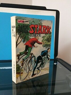 ► ALBUM JANUS STARK  16 - ( n°46+n°47+n°48 ) MON JOURNAL 1982 - TBE