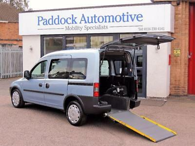 Vauxhall Combo 1.4 Tour Disabled Wheelchair Adapted Vehicle WAV