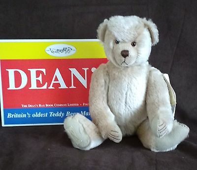 Deans Artist Showcase Mohair Teddy Bear - Paddy By Frank Webster - New With Tags