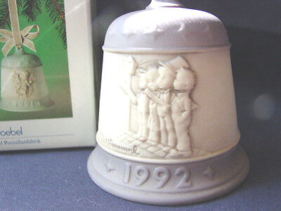 Hummel Christmas Bell 1992 Harmony In Four Parts