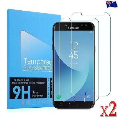 2 PACK Tempered Glass Screen Protector For Samsung Galaxy J2 J3 J5 J7 Pro J8 A8