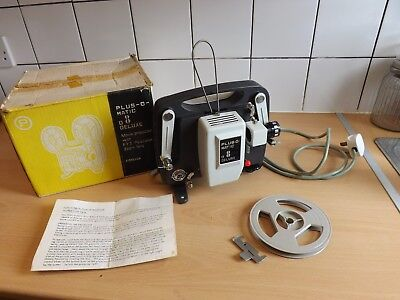 Vintage Plus O Matic D8 Deluxe Movie Projector - Good Working Order