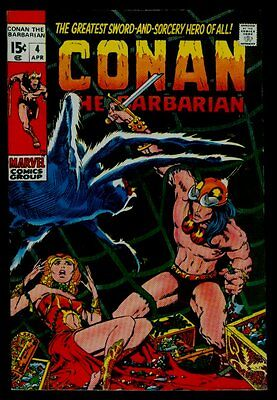 Marvel Comics CONAN The Barbarian #4 The Tower Of The Elephant VFN- 7.5