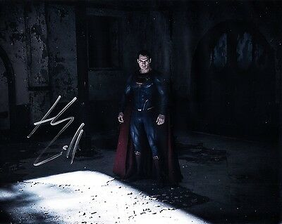 Henry Cavill Signed Superman The Man of Steel Autograph 10x8 Photo