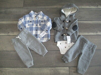 5 piece LOT of fall/winter baby boys clothes size 3 months NWT