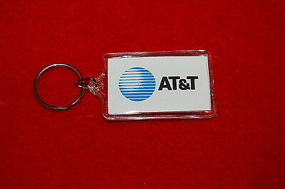 """Vintage AT&T KEYCHAIN TELEPHONE COMPANY ~ """"Know The Code"""""""