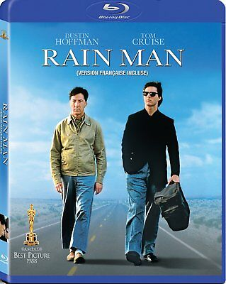 NEW BLU-RAY // RAIN MAN - Dustin Hoffman, Tom Cruise, Valeria Golino, Jerry Mole
