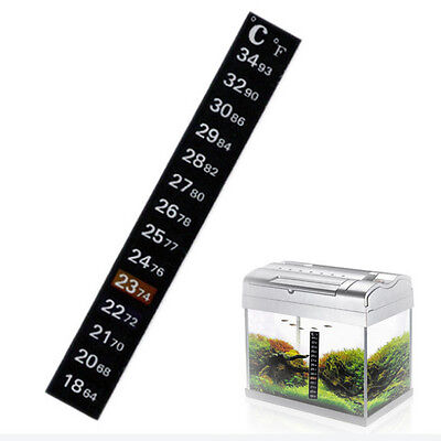.Aquarium stick on thermometer X1 £0.99 FREE P+P UK 24HR DISPATCH