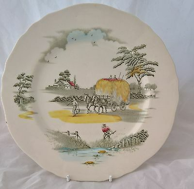 Retro Alfred Meakin The Ride Home  Breakfast plate