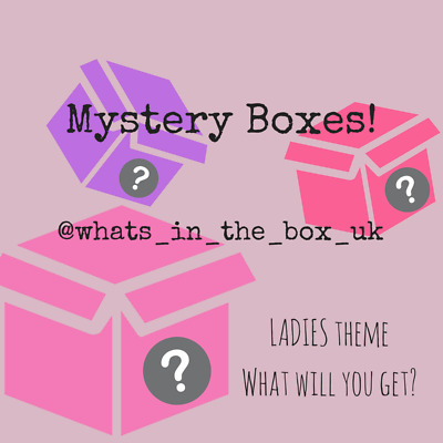 """Buy a """"Mystery"""" Box - What's Inside? Hint = Ladies / Womens"""