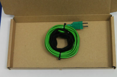 Pipe clamp temperature probe velcro wrap-round for medium and large pipes.